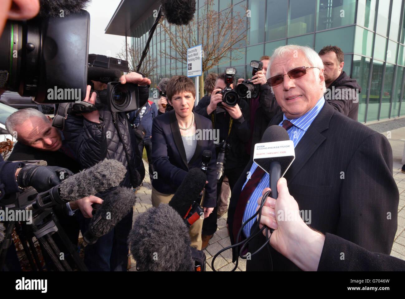 Hillsborough inquest - Stock Image
