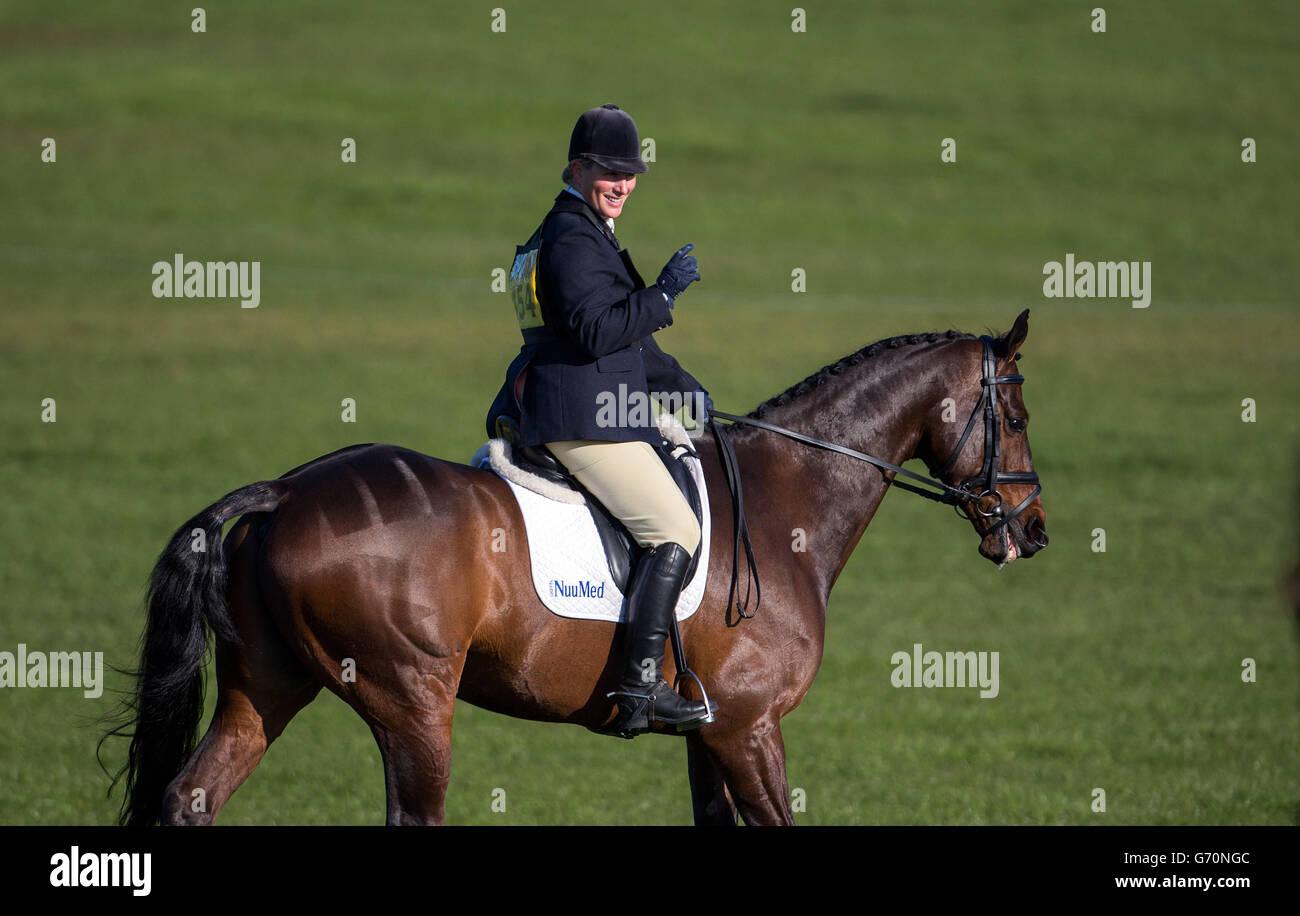 Equestrian - Symm International Horse Trials - Day One - Hambleden - Stock Image