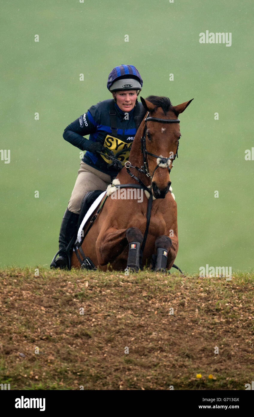 Equestrian - Symm International Horse Trials - Day Two - Hambleden - Stock Image