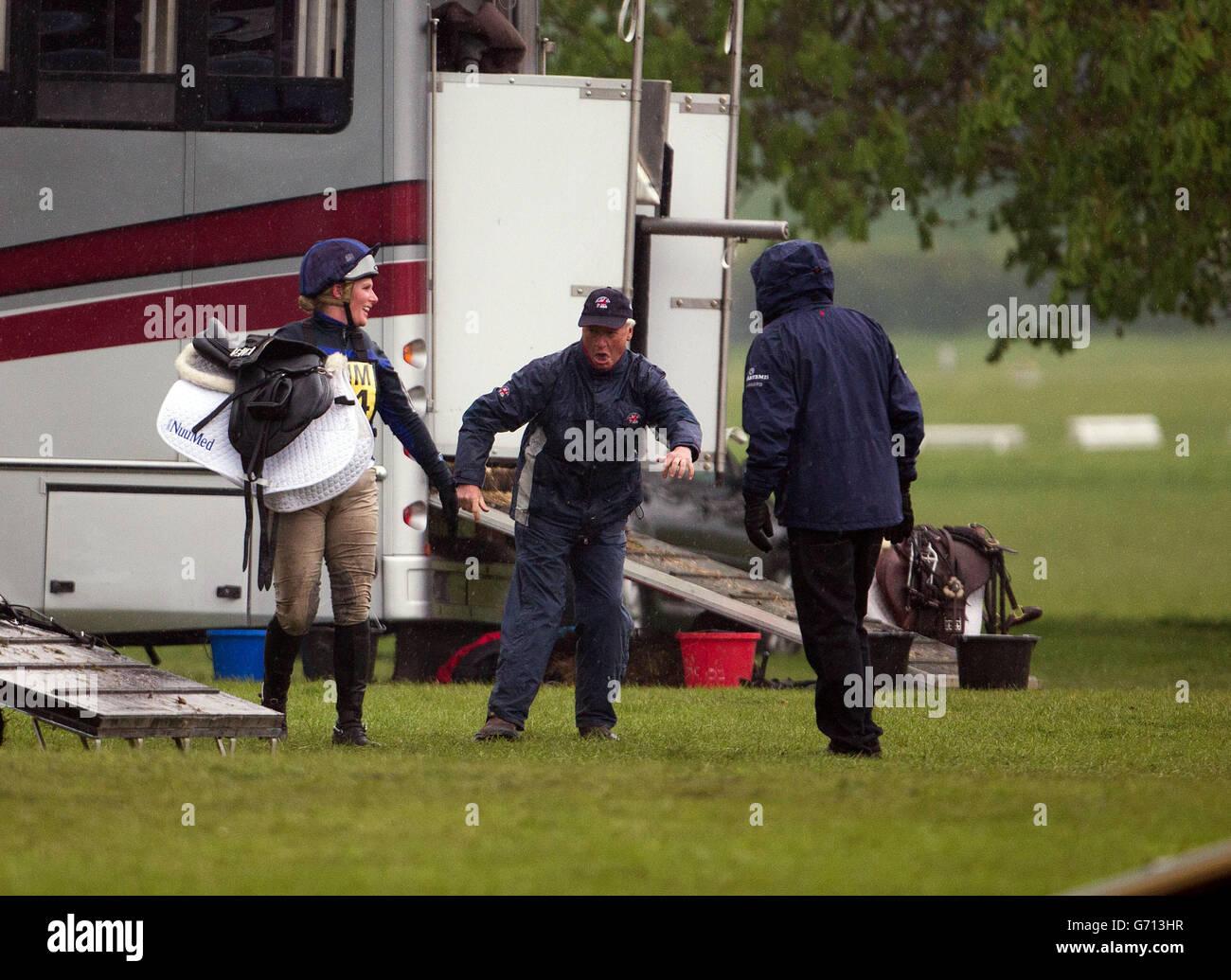 Equestrian - Symm International Horse Trials - Day Two - Hambleden - Stock Image