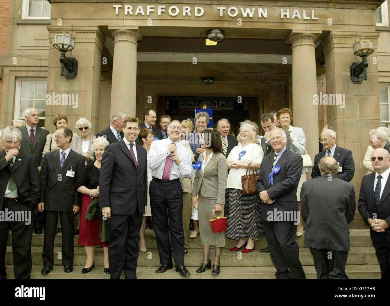 Howard Trafford Town Hall - Stock Image