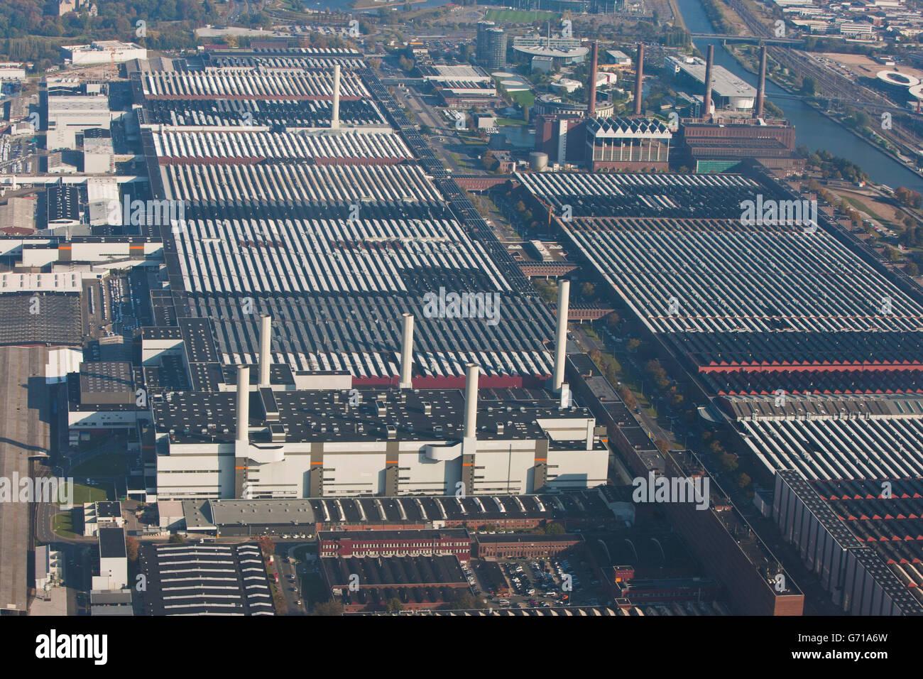 Volkswagen Factory In Wolfsburg Stock Photos & Volkswagen Factory In Wolfsburg Stock Images - Alamy