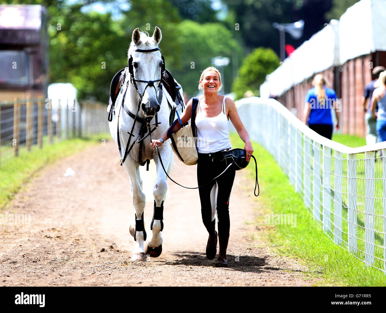 Equestrian - Royal Windsor Horse Show - Day Two - Windsor Castle Stock Photo