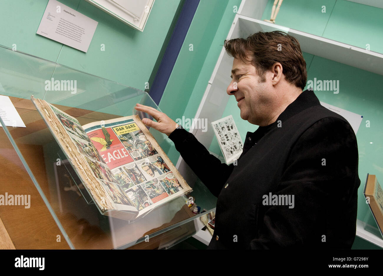 Comics Unmasked launch party - London - Stock Image