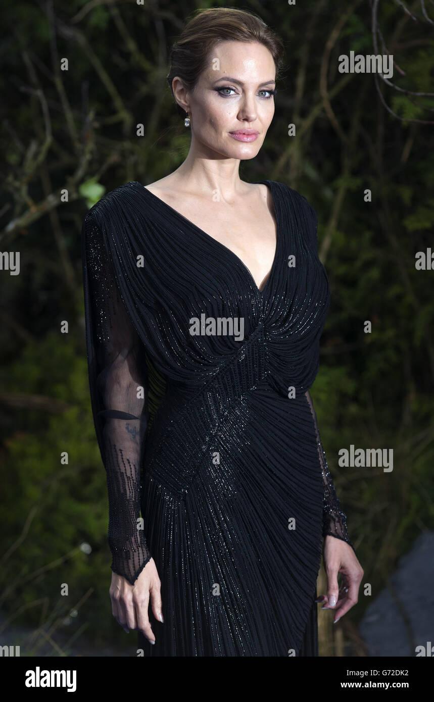 Maleficent premiere - London - Stock Image