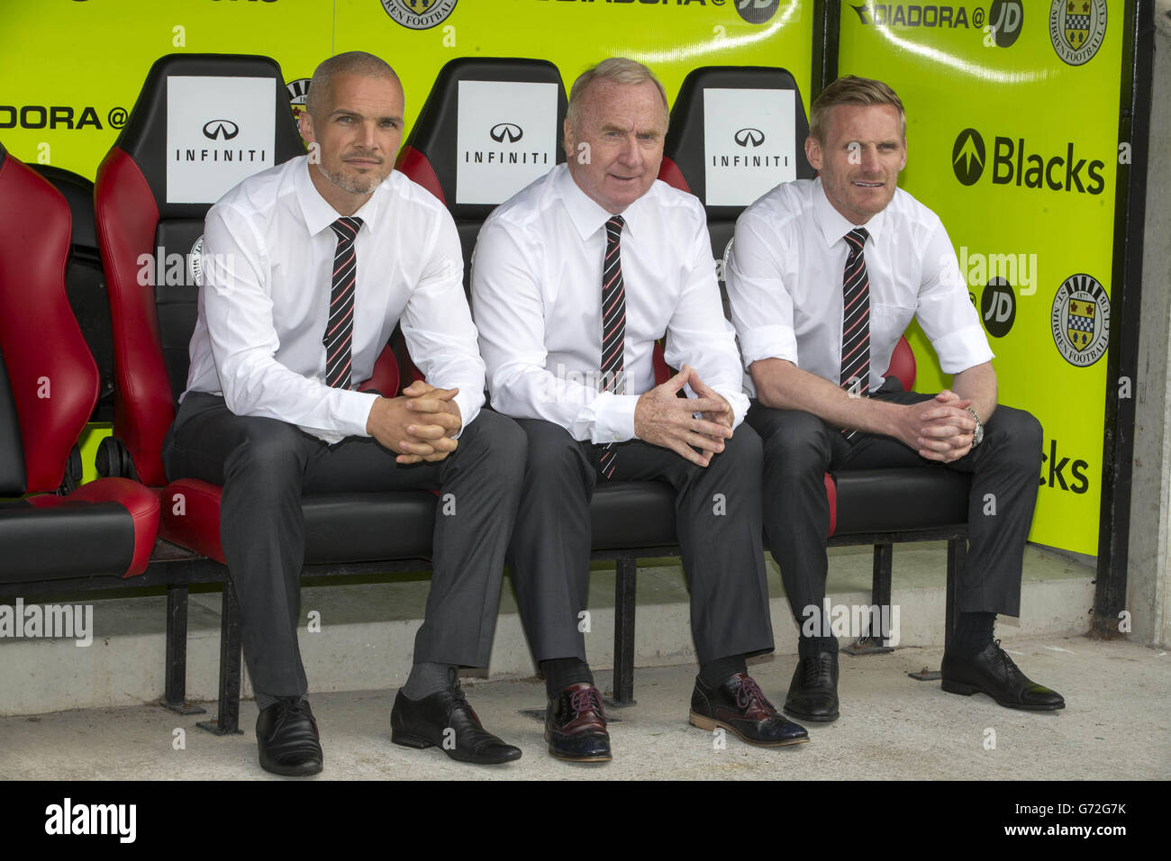 Soccer - St Mirren Press Conference - Tommy Craig Unveiling - St Mirren Park Stock Photo