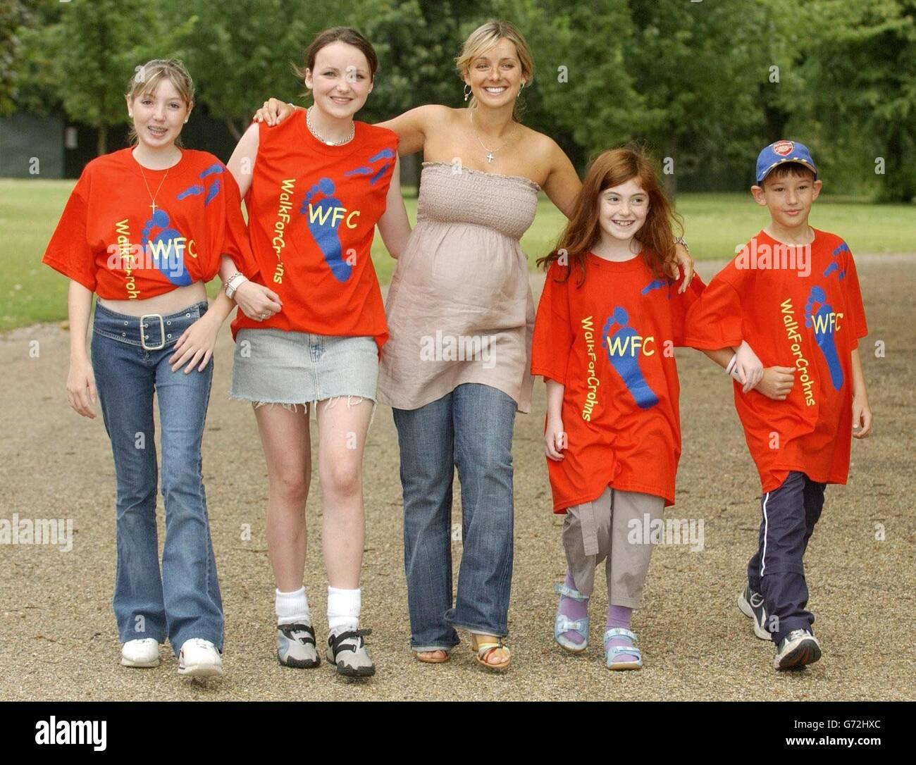 Louise Redknapp Pregnant - Stock Image