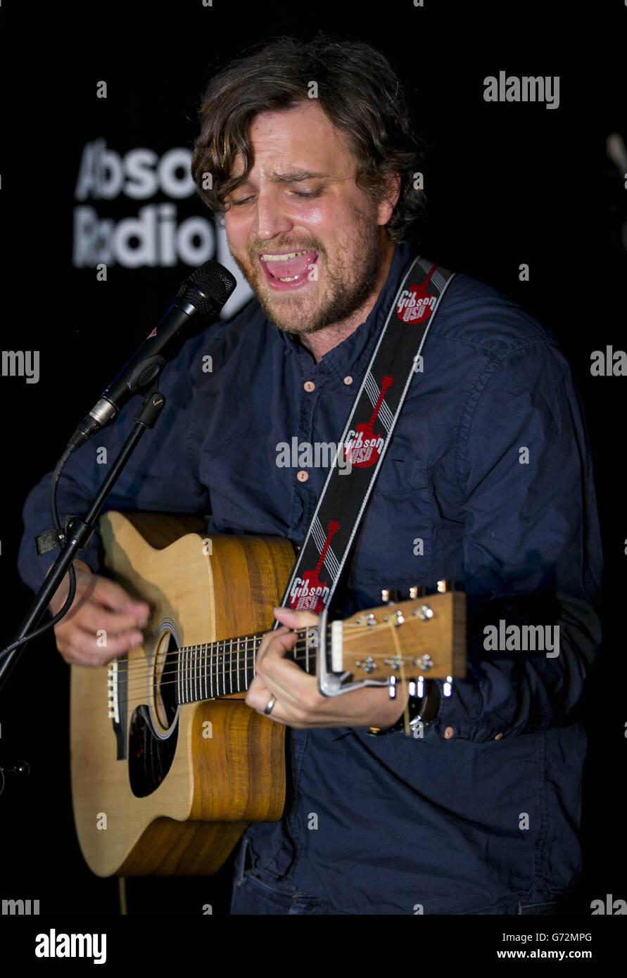 James Walsh secret gig - London - Stock Image