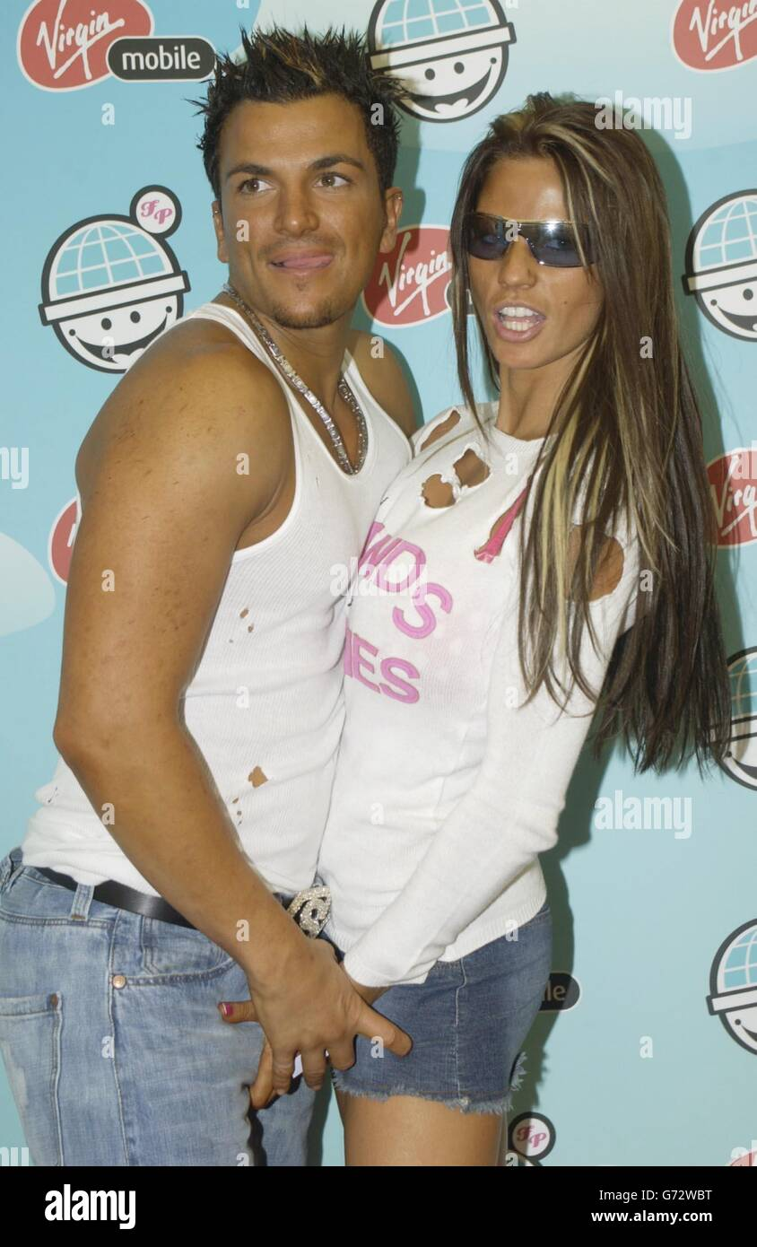 Peter Andre and Jordan Big Gay Out concert - London - Stock Image