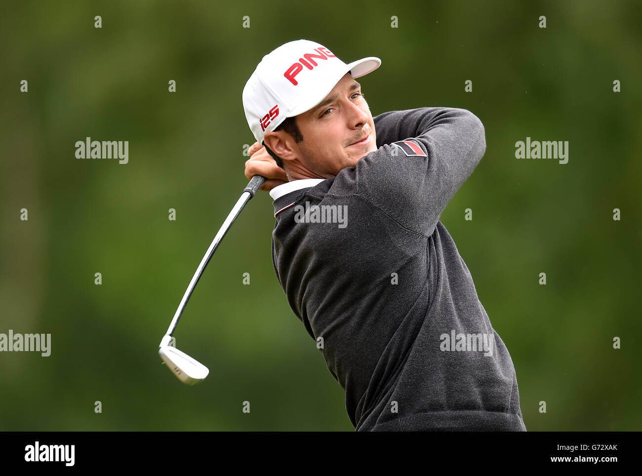 Golf - 2014 BMW PGA Championship - Day Two - Wentworth Golf Club - Stock Image