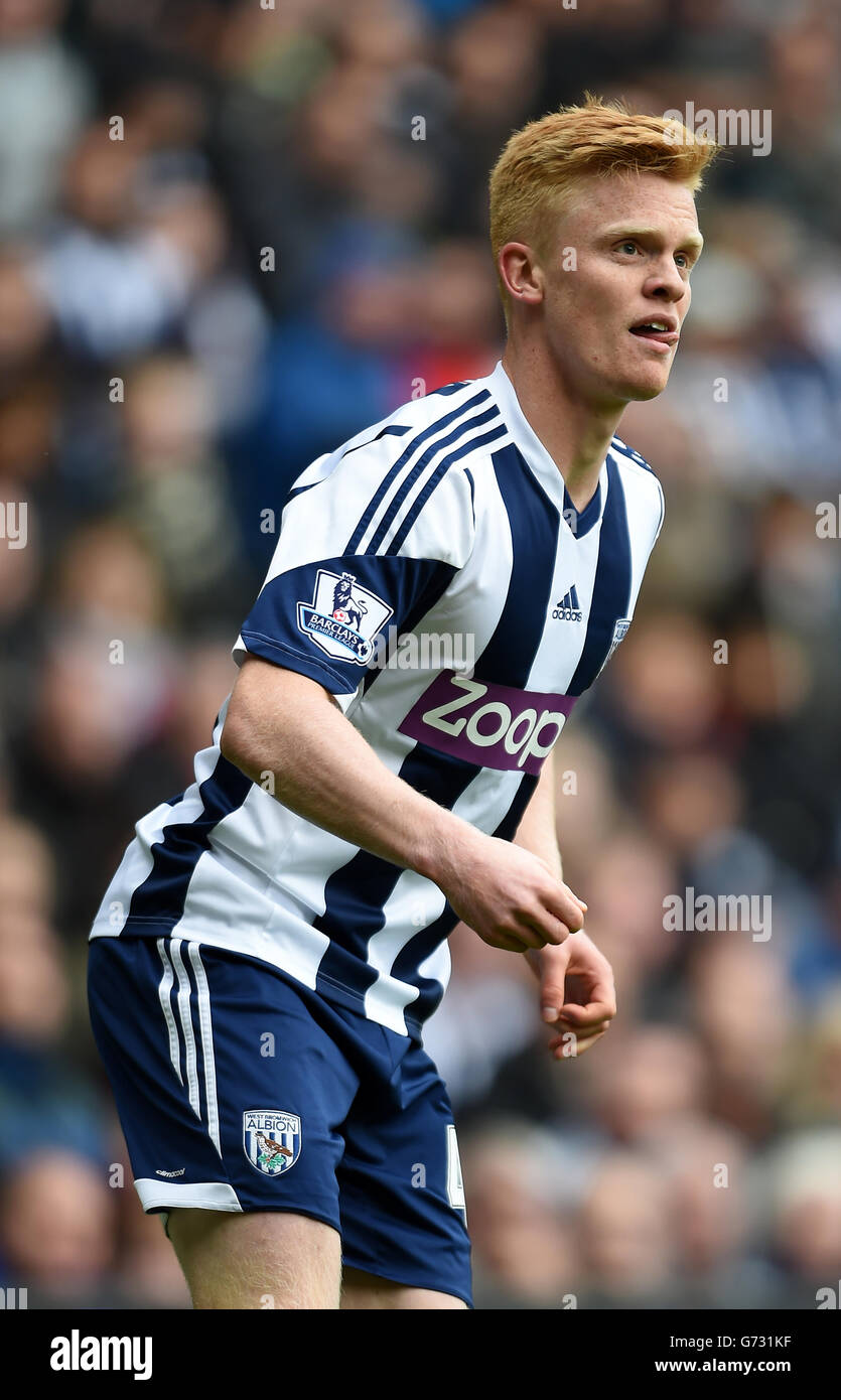 Soccer - Barclays Premier League - West Bromwich Albion v Stoke City - The Hawthorns - Stock Image