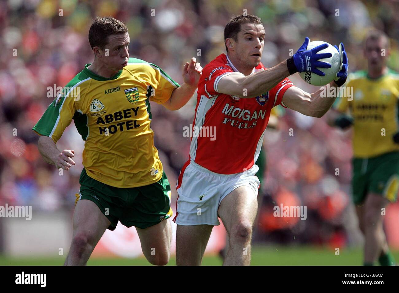 Armagh v Donegal - Stock Image