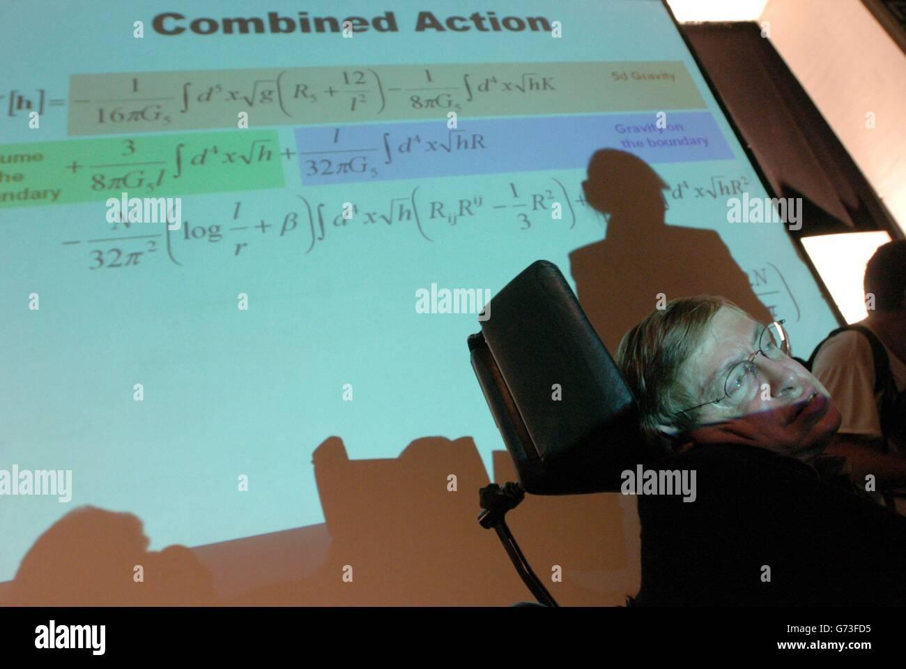 Stephen Hawking Space Stock Photos & Stephen Hawking Space ...
