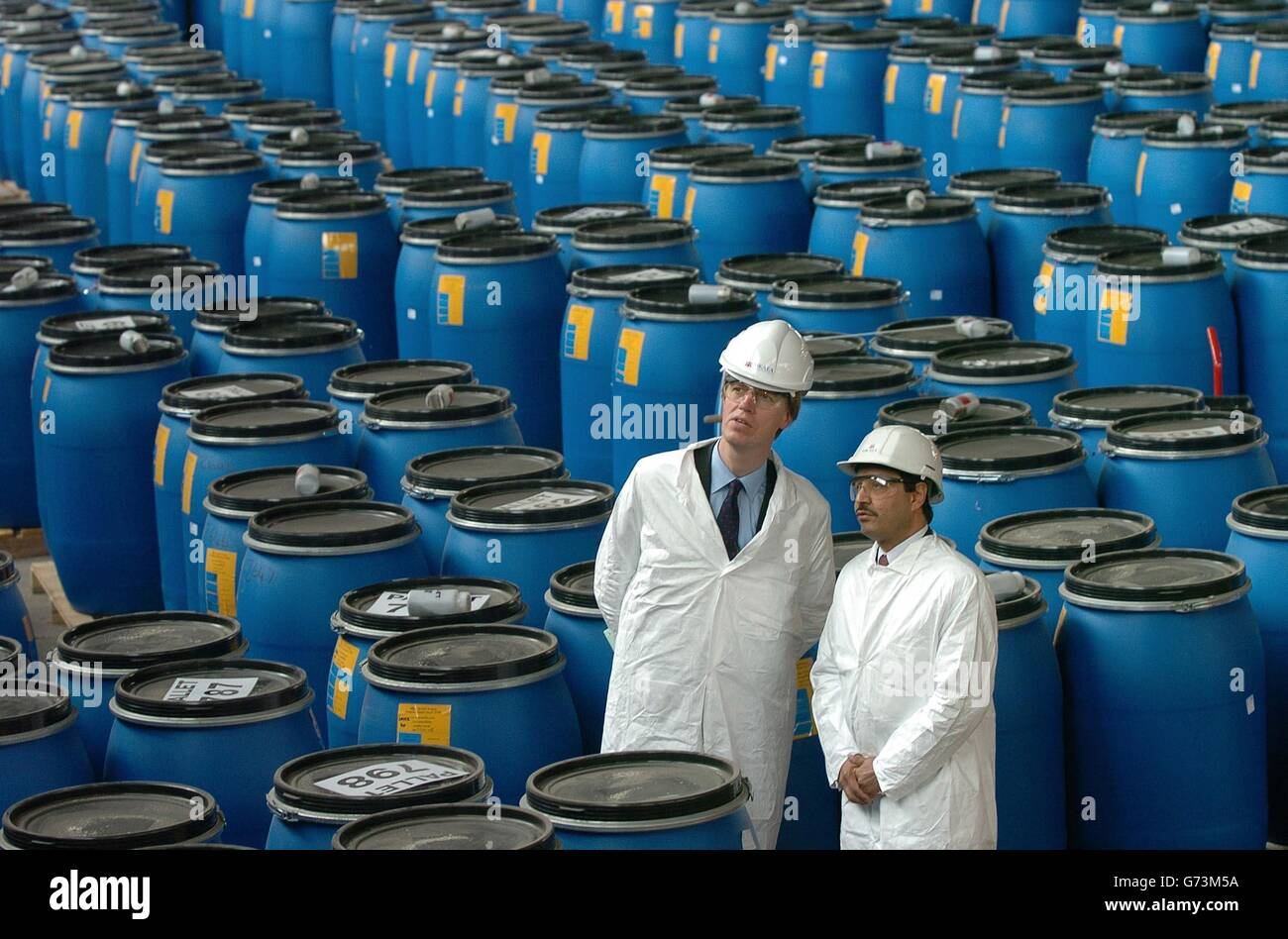 Stephen Timms - Nuclear Decommissioning - Stock Image