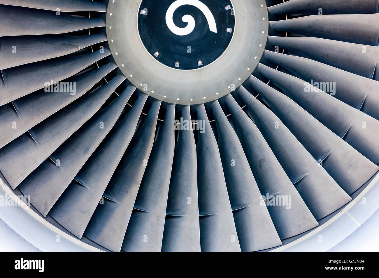 Jet Engine - Stock Image