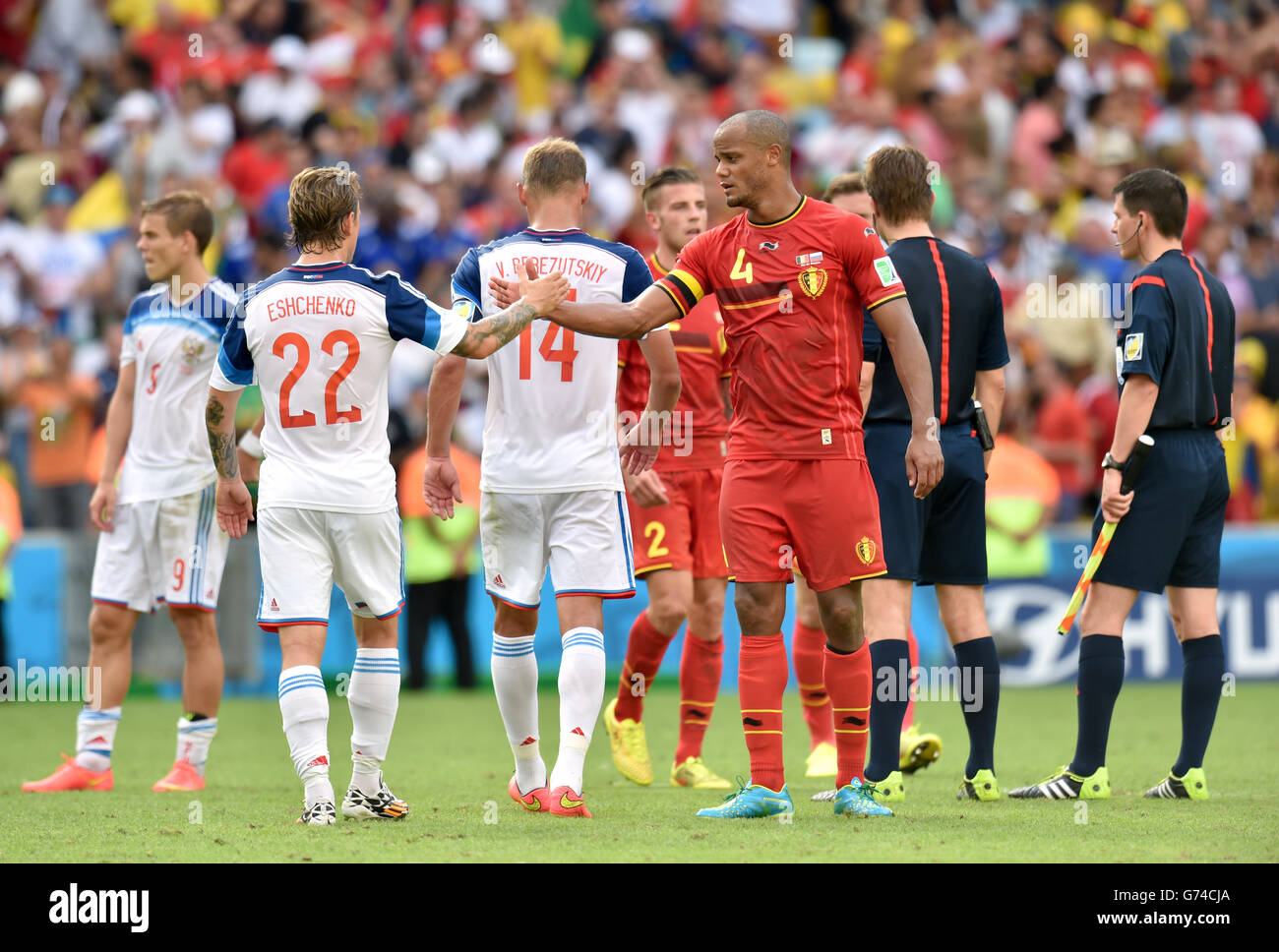 online retailer 364f5 d95f4 Soccer - FIFA World Cup 2014 - Group H - Belgium v Russia ...