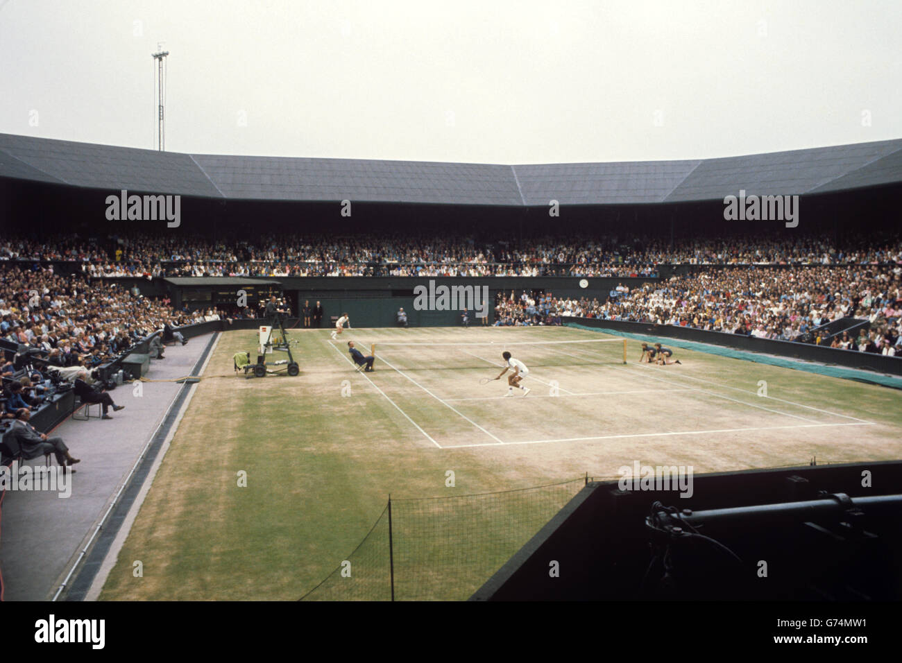 Jimmy Connors Tennis Wimbledon Stock Photos & Jimmy Connors