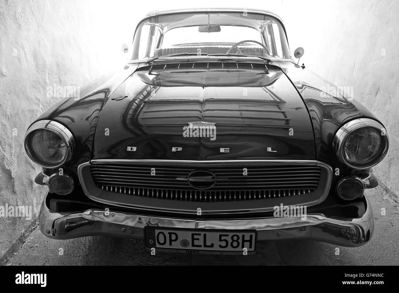 Opel Car Black And White Stock Photos Amp Images Alamy