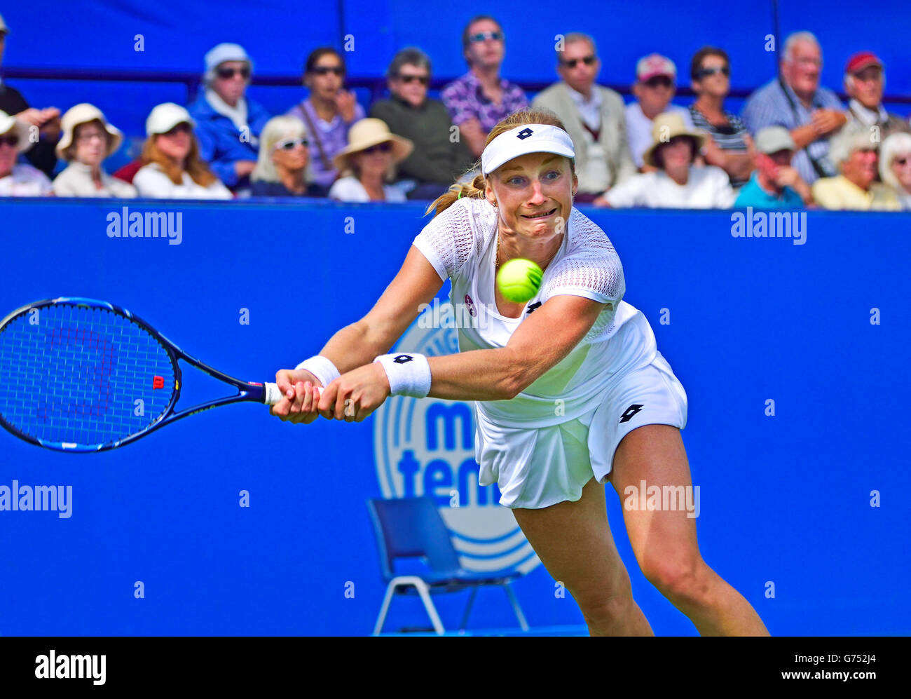 Ekaterina Makarova (Russia) at the Aegon International, Eastbourne, 21st June 2016. Stock Photo
