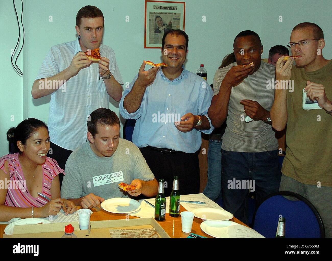 Stelios Haji-Ioannou easyPizza - Stock Image