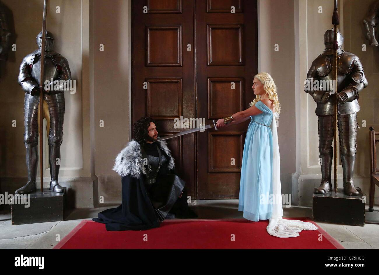 Game Thrones Themed Wedding Stock Photos Game Thrones Themed