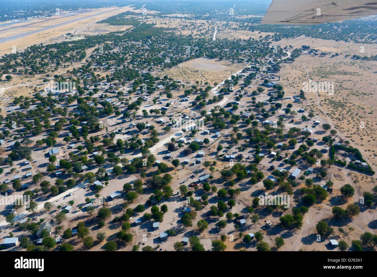 Maun, Botswana, Africa - Stock Image