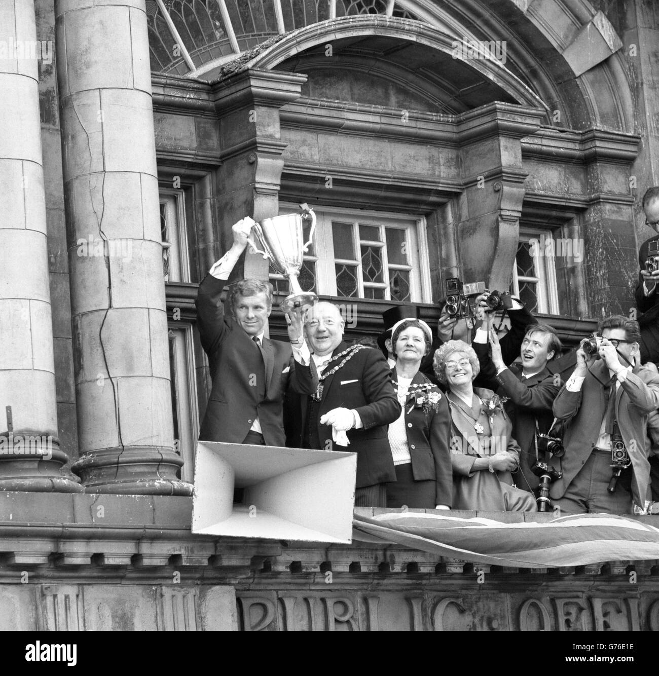 Soccer - European Cup Winners' Cup - West Ham Celebration - London - Stock Image