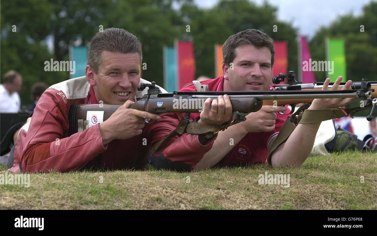 Collin Mallett and David le Quesne - Stock Image