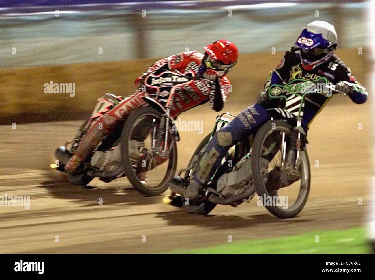 Speedway - Elite League Riders Championship - Poole Stadium - Stock Image