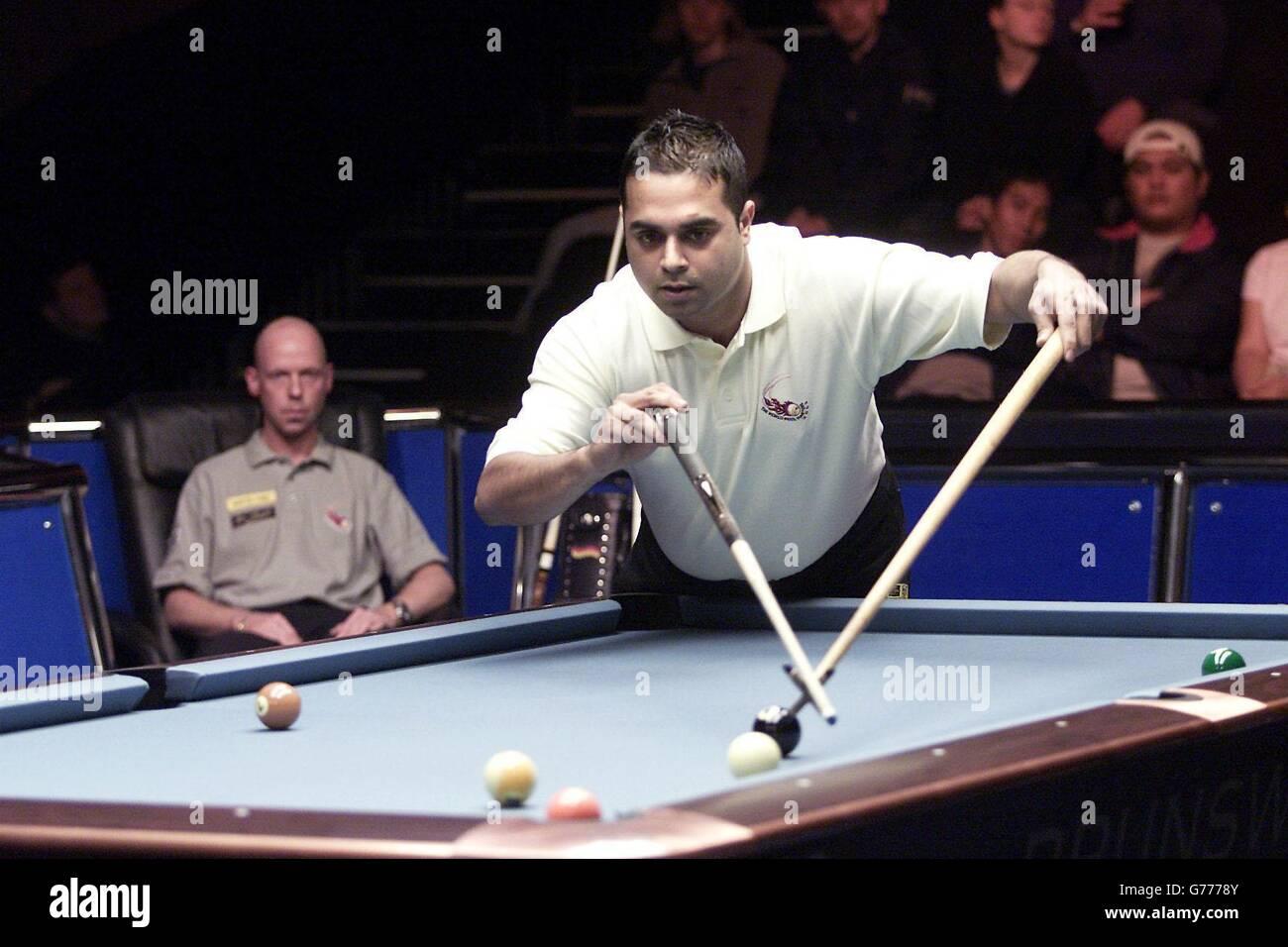Majid - 2002 World Pool Masters tournament - Stock Image