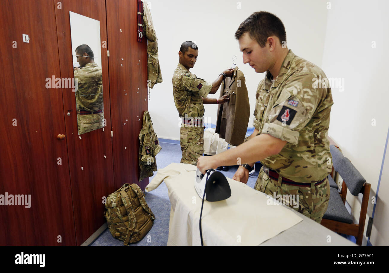 Renaming of Army's armoured division - Stock Image