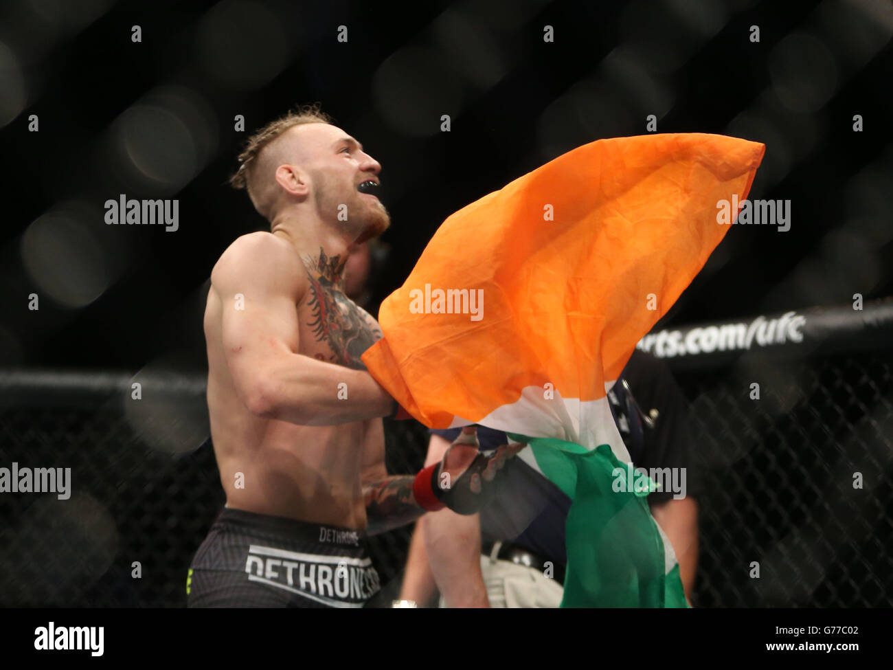 UFC Fight Night - Dublin - Stock Image
