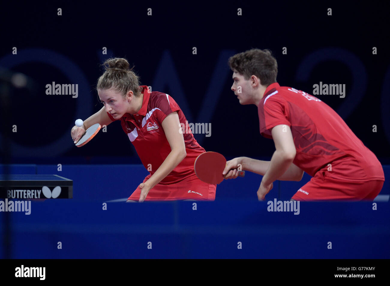 Sport - 2014 Commonwealth Games - Day Seven Stock Photo