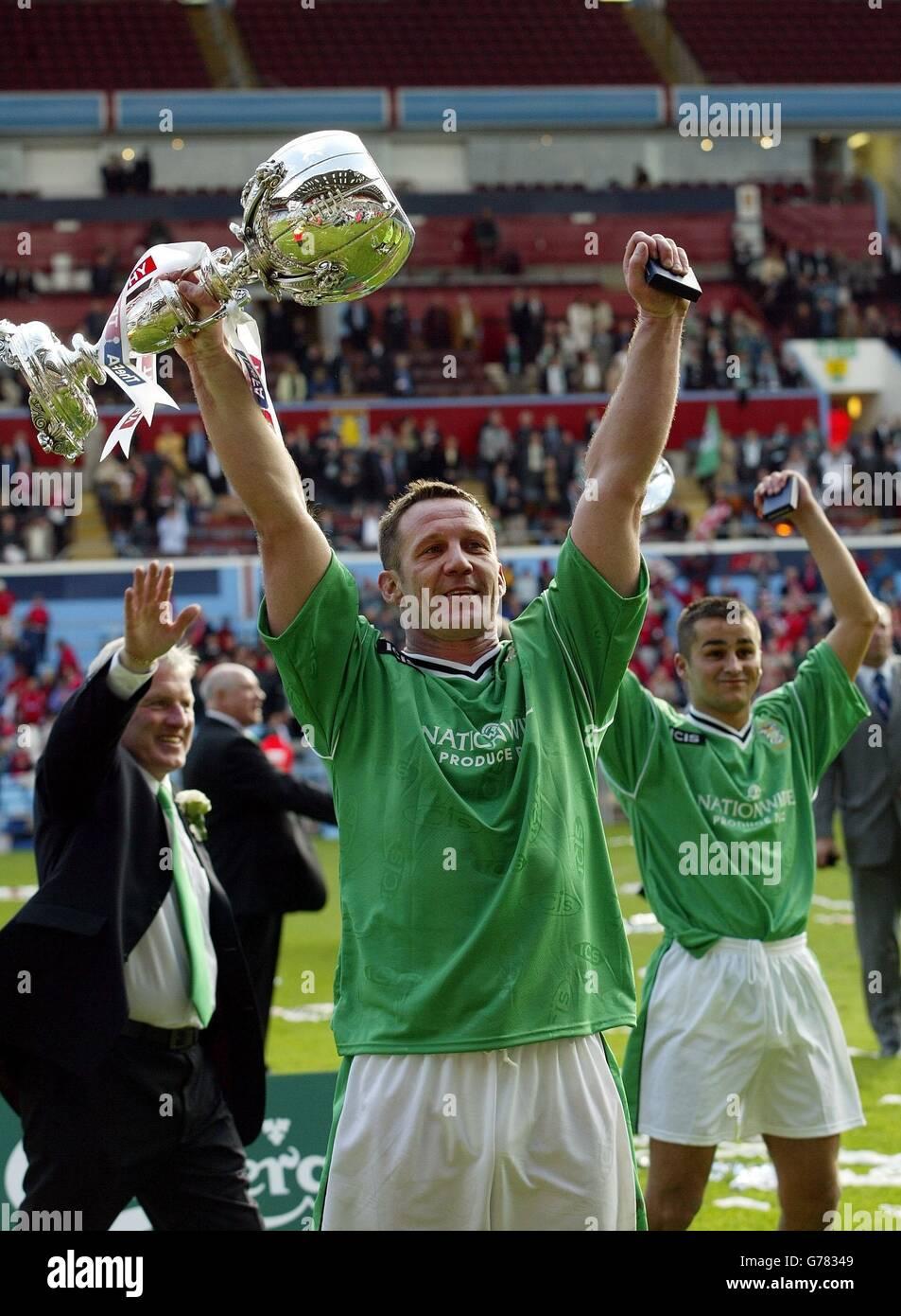 FA Trophy Final - Burscough - Stock Image