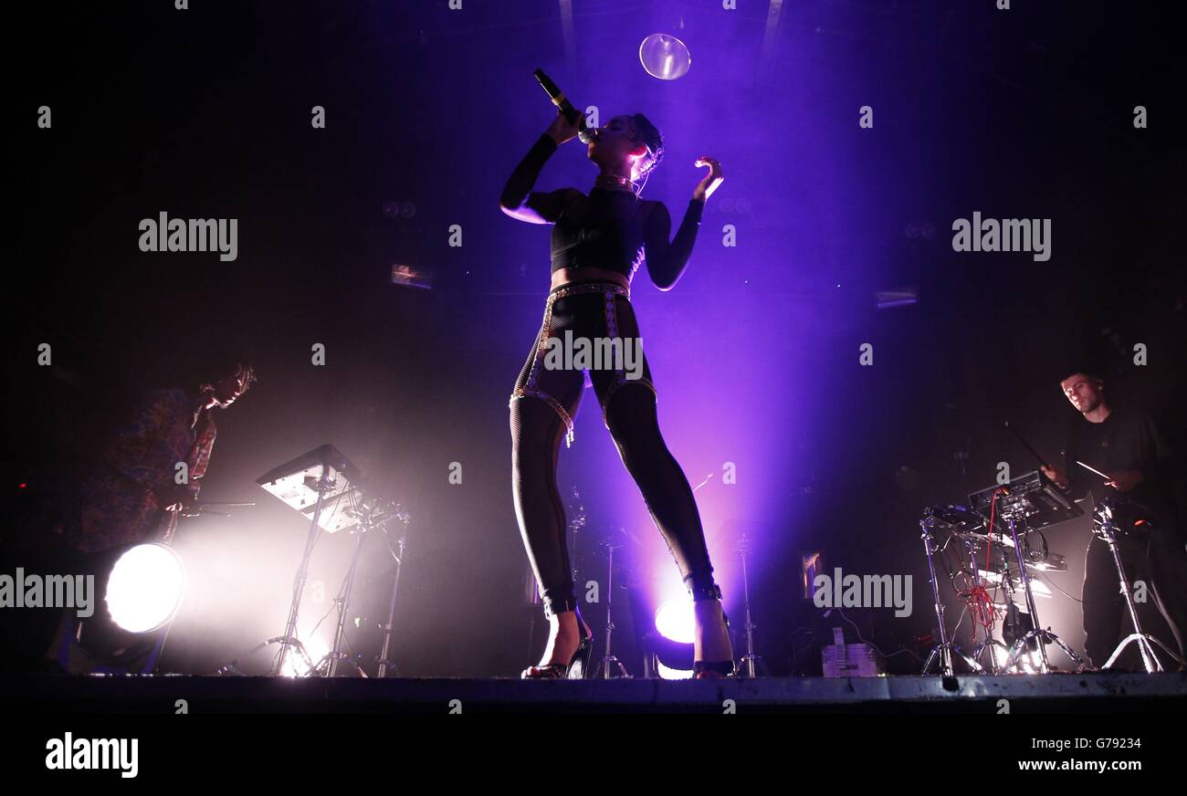 FKA twigs performs at Heaven - London - Stock Image
