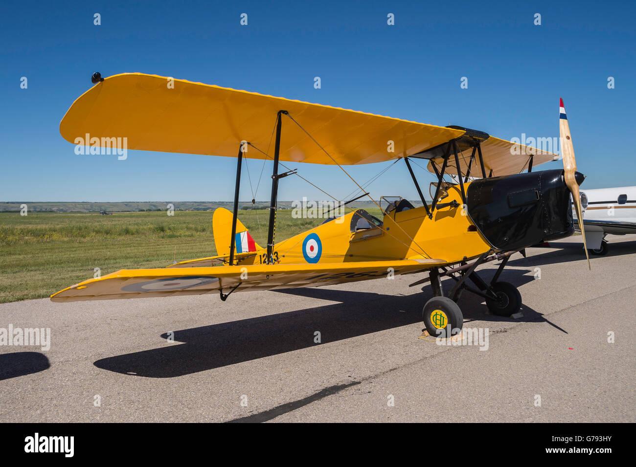 a76839e6d de Havilland DH.82 Tiger Moth, Wings over Springbank, Springbank Airshow,  Alberta, Canada