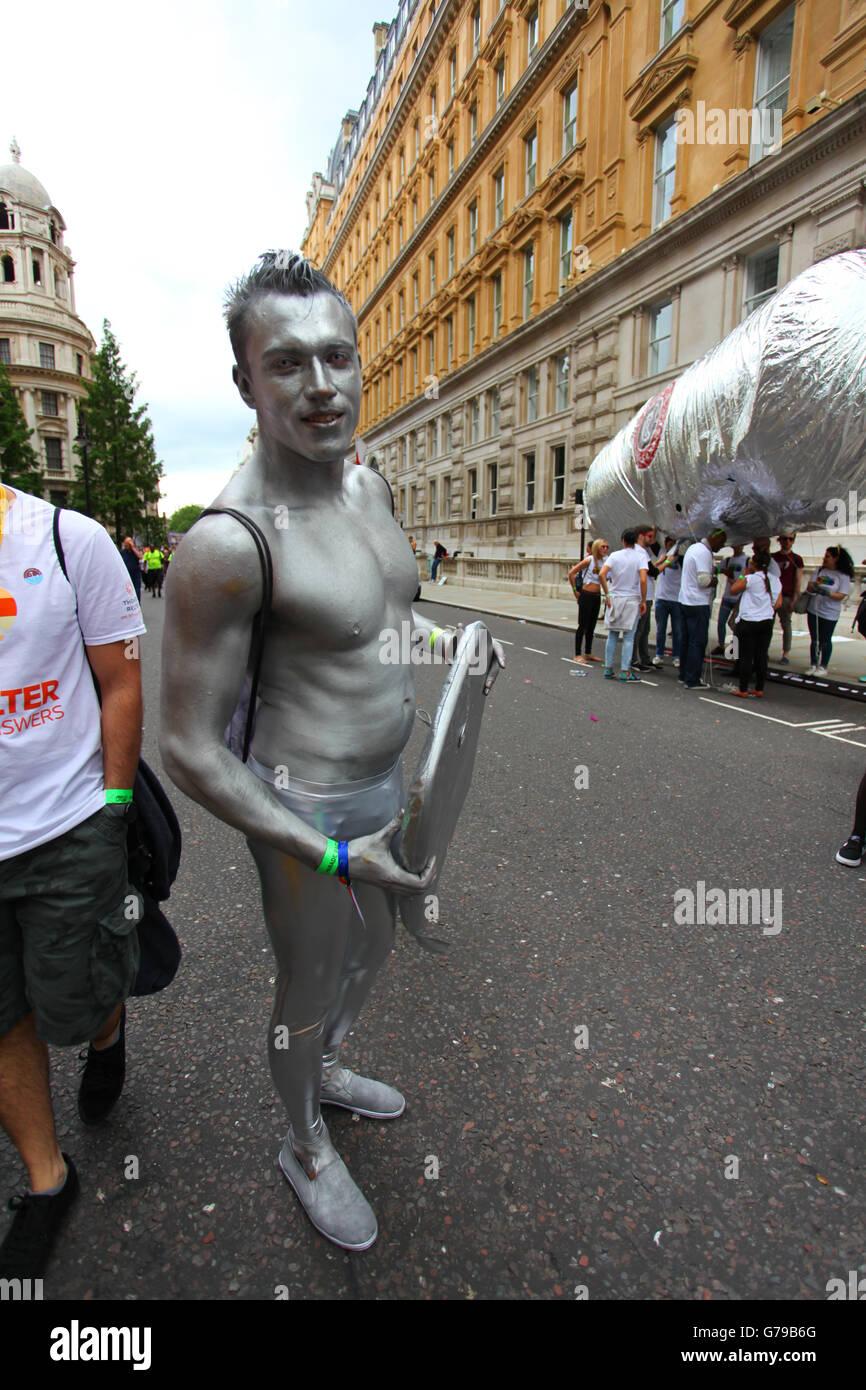 silver gay man