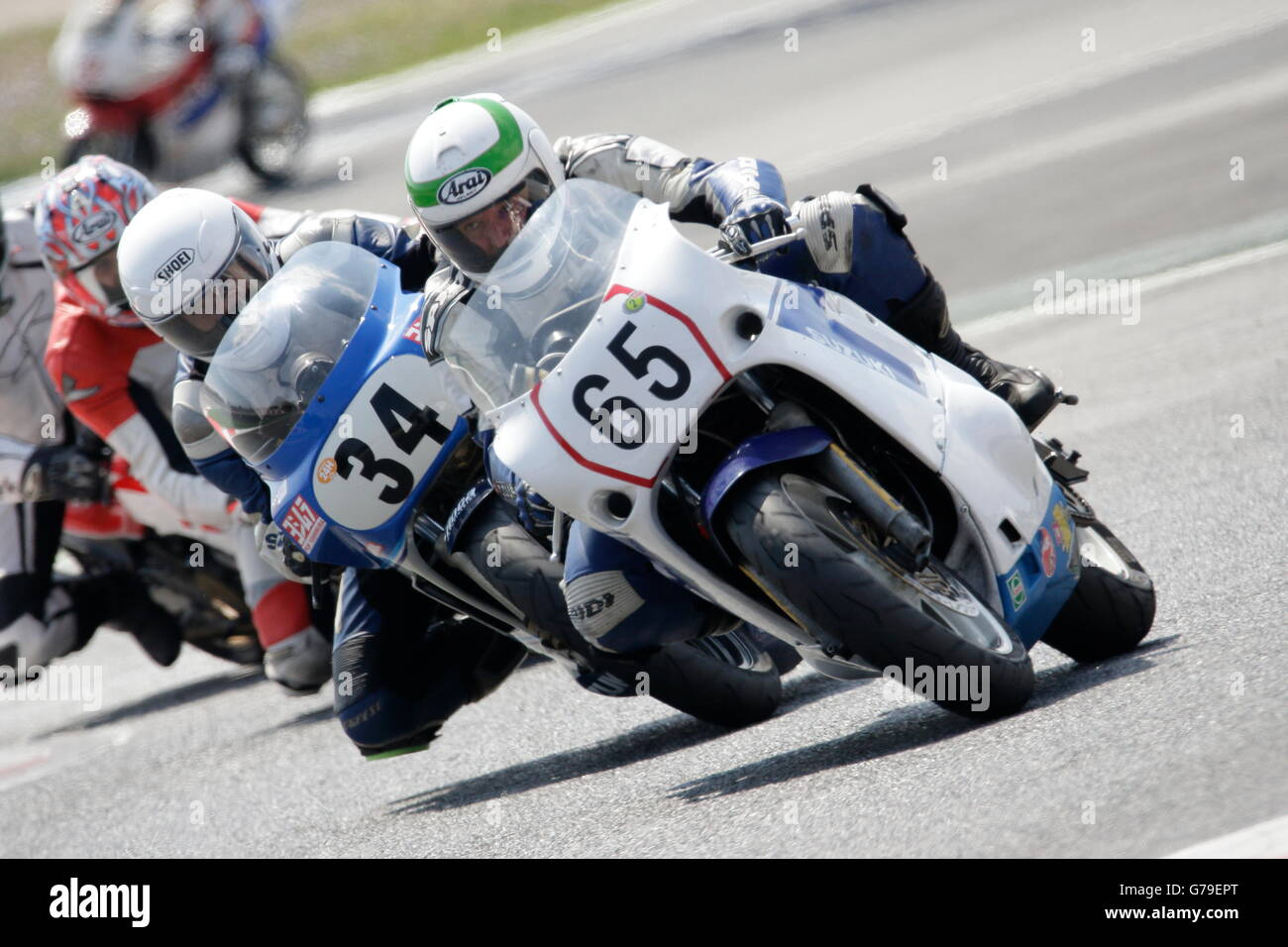 Barcelona, Spain. 26th June, 2016. ARENAS MAÑE, MODEST, motor bike number 65 in action during the Classics - Stock Image