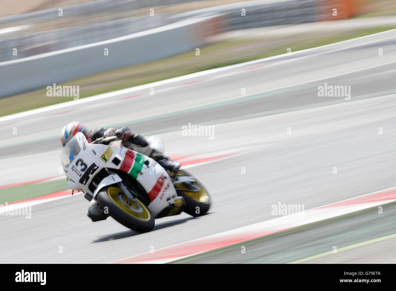 Barcelona, Spain. 26th June, 2016. ROBLES PEREZ, MANEL member of the Racc Motor Sport team, in action during the - Stock Image