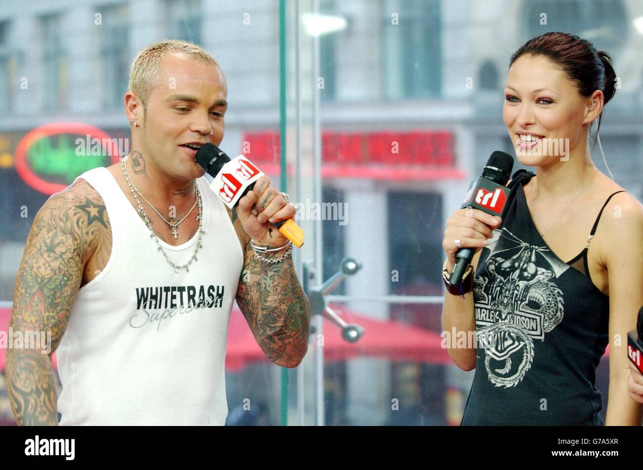 Shifty MTV's TRL - Total Request Live - show - Stock Image