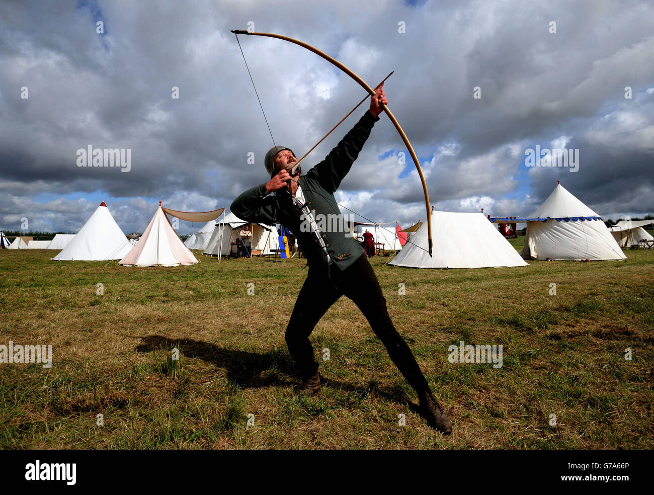 Bosworth Anniversary Event - Stock Image