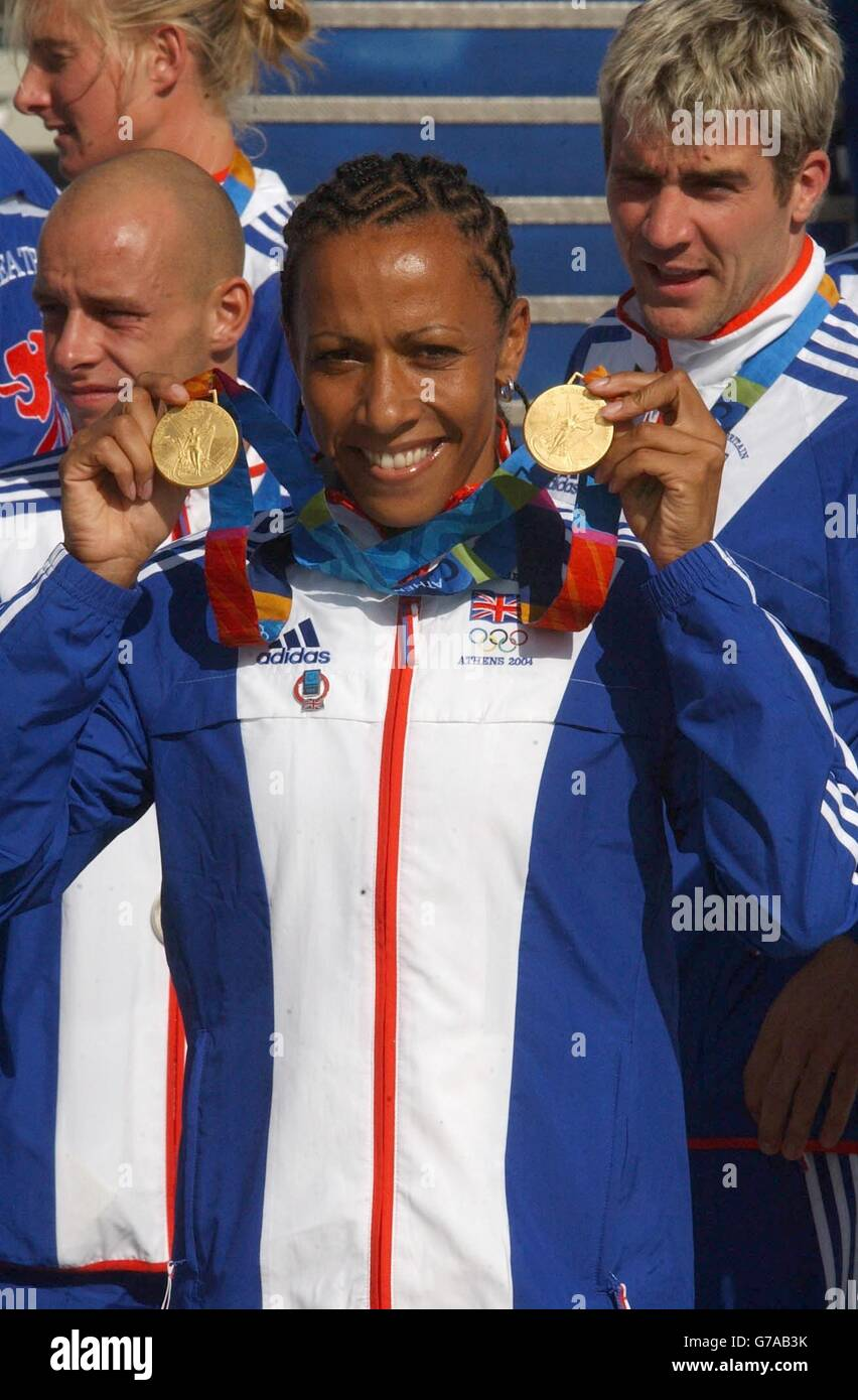 Watch Kelly Holmes 3 Olympic medals in middle distance running video