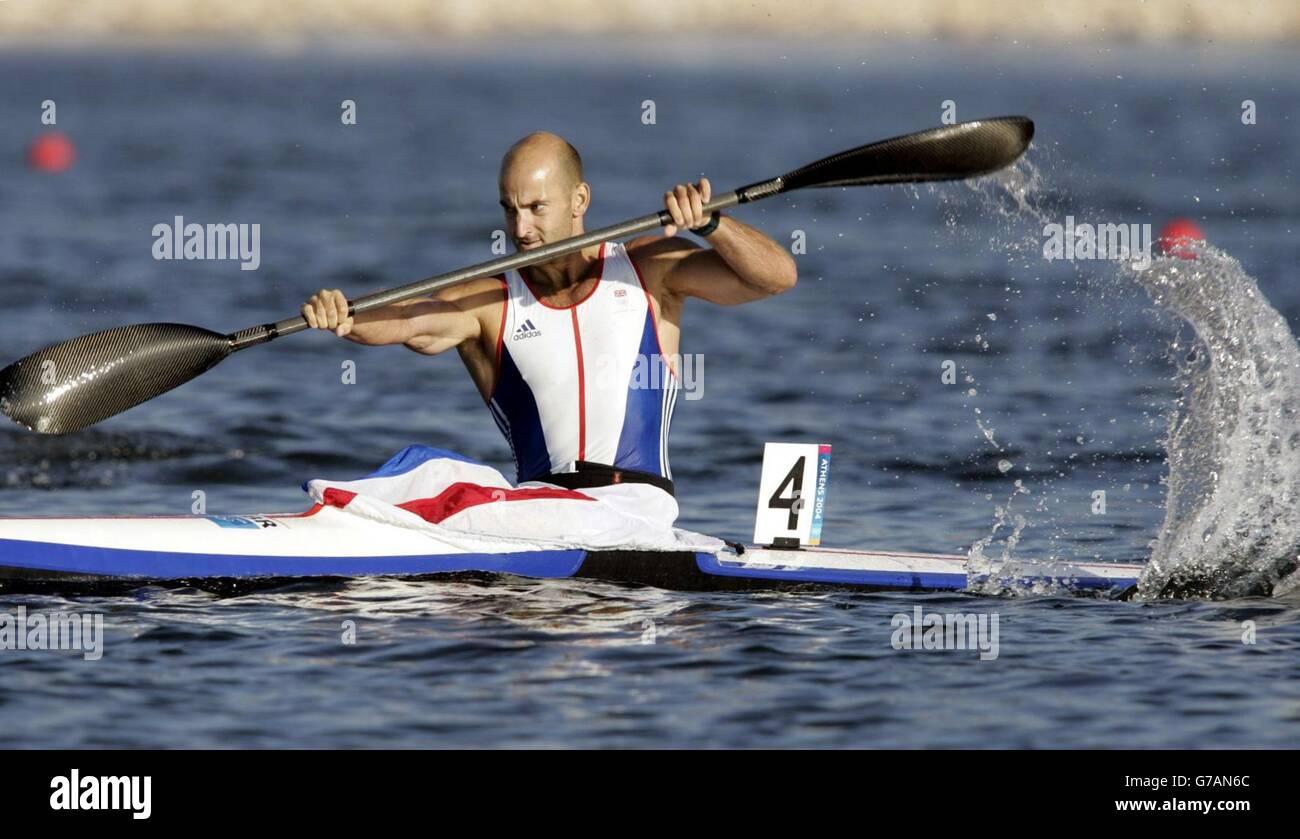OLYMPICS 2004 Kayaking Stock Photo 107800964