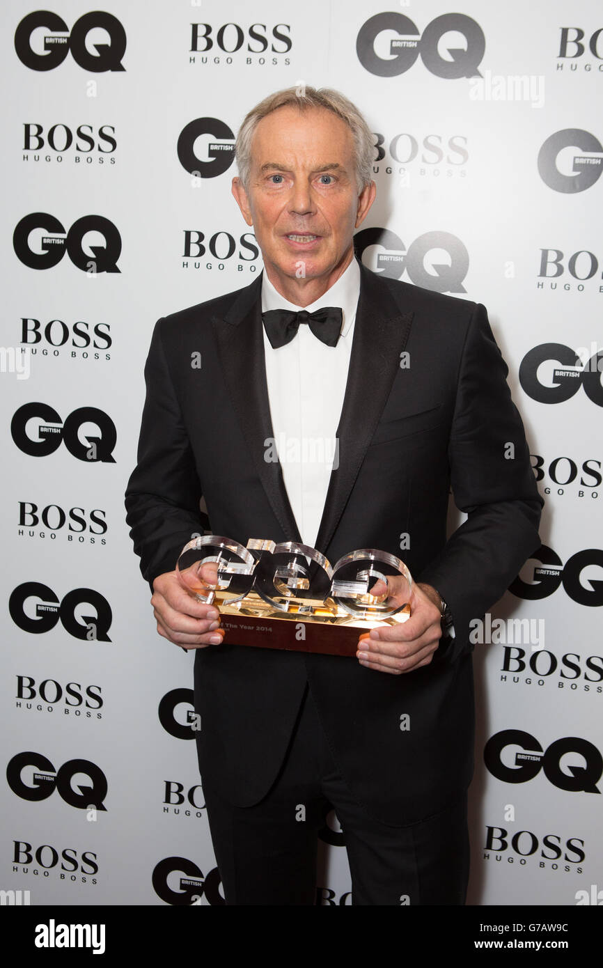 GQ Men of the Year Awards 2014 - London - Stock Image