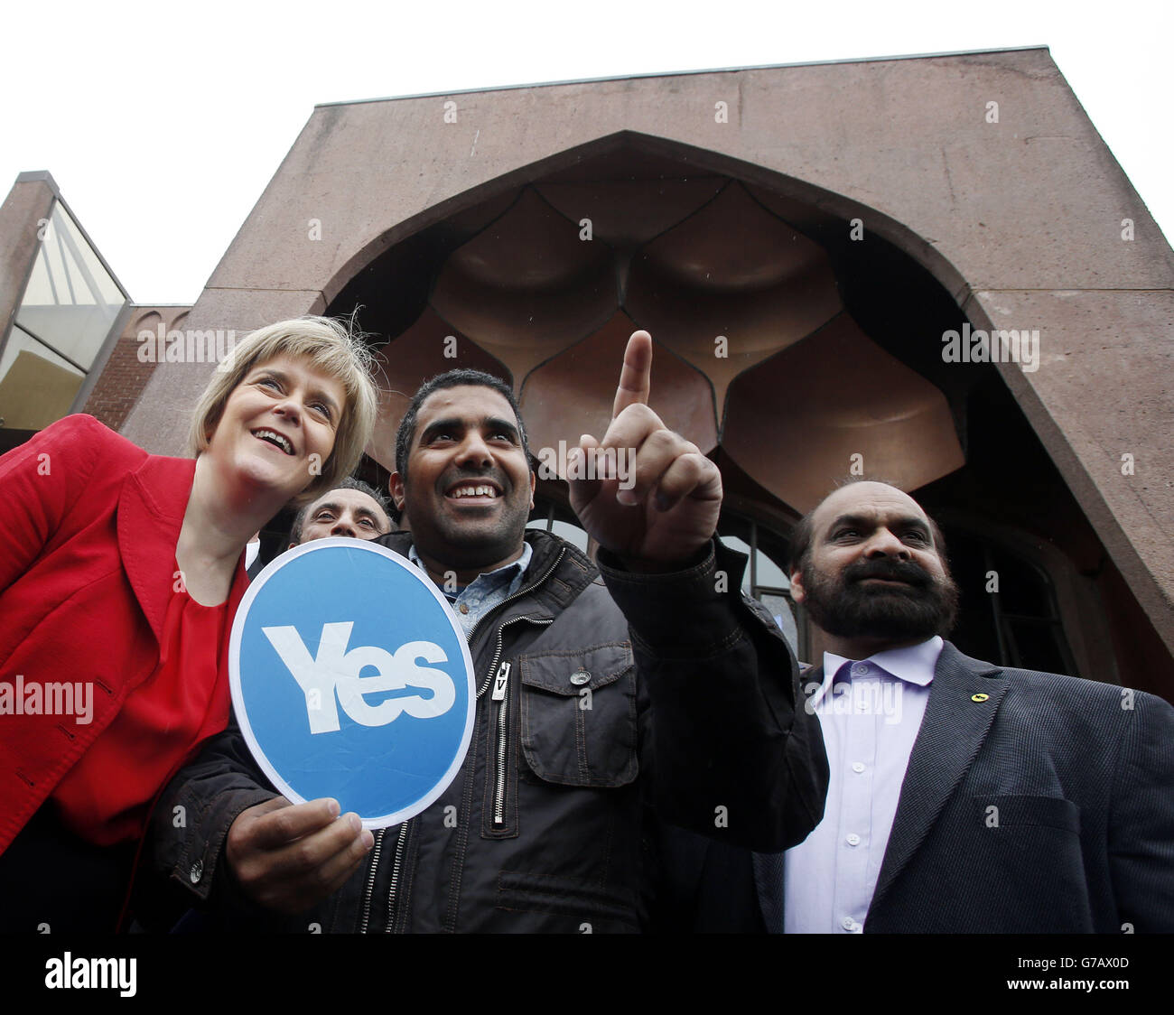 Scottish independence referendum - Stock Image