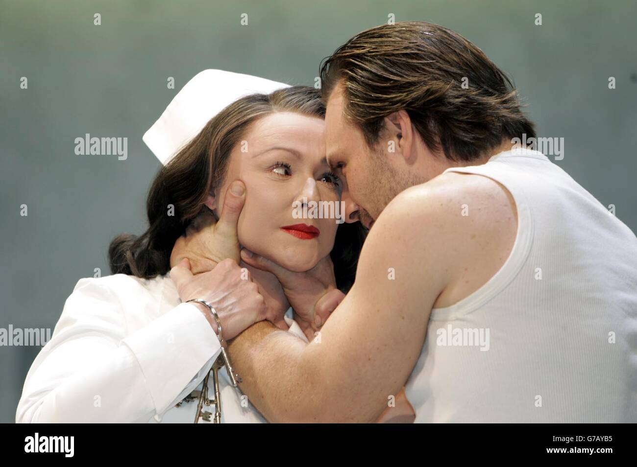 One Flew Over The Cuckoo's Nest Rehearsal - Stock Image