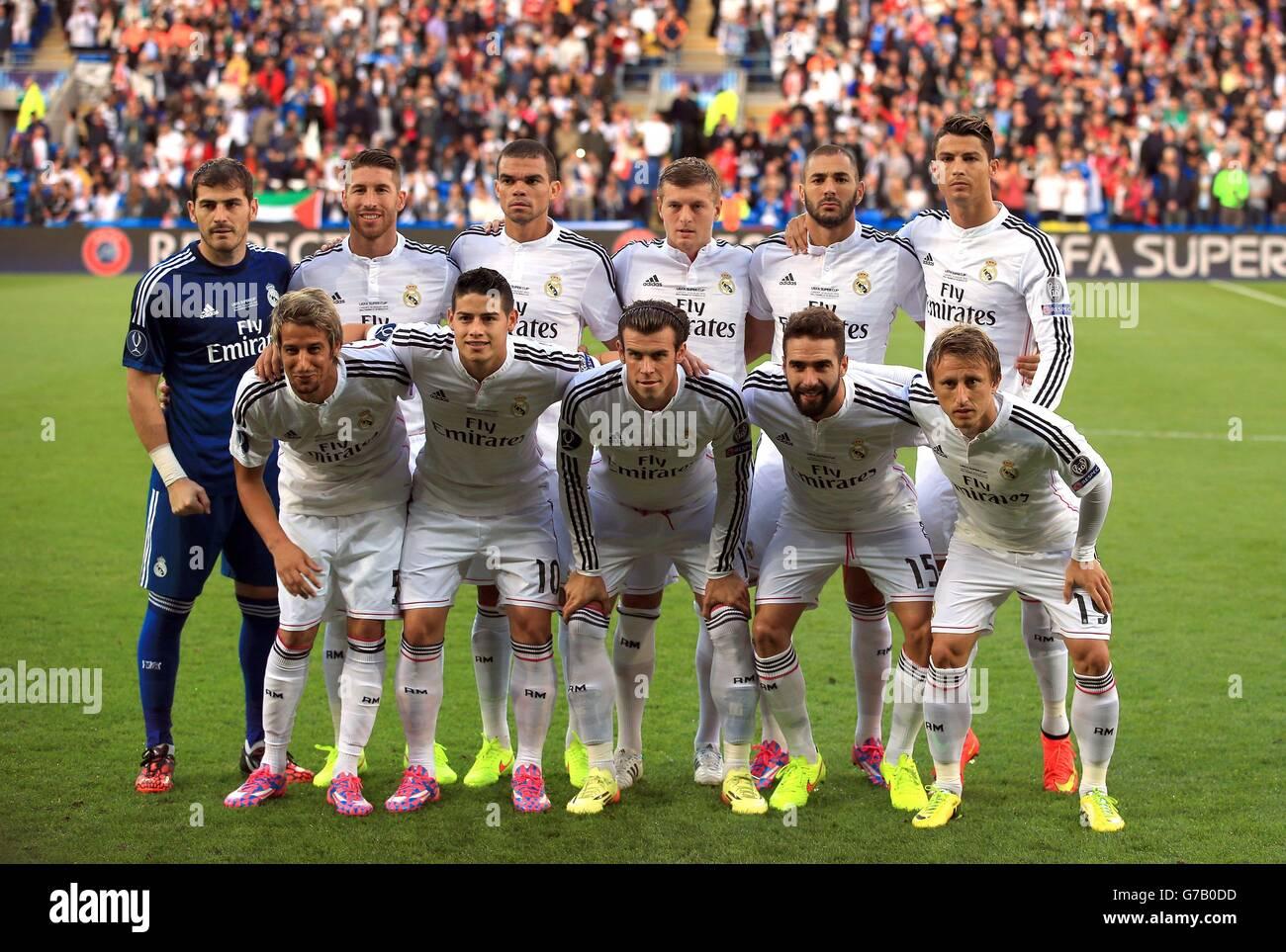 04fffac942451 Soccer - 2014 UEFA Super Cup - Sevilla v Real Madrid - Cardiff City Stadium