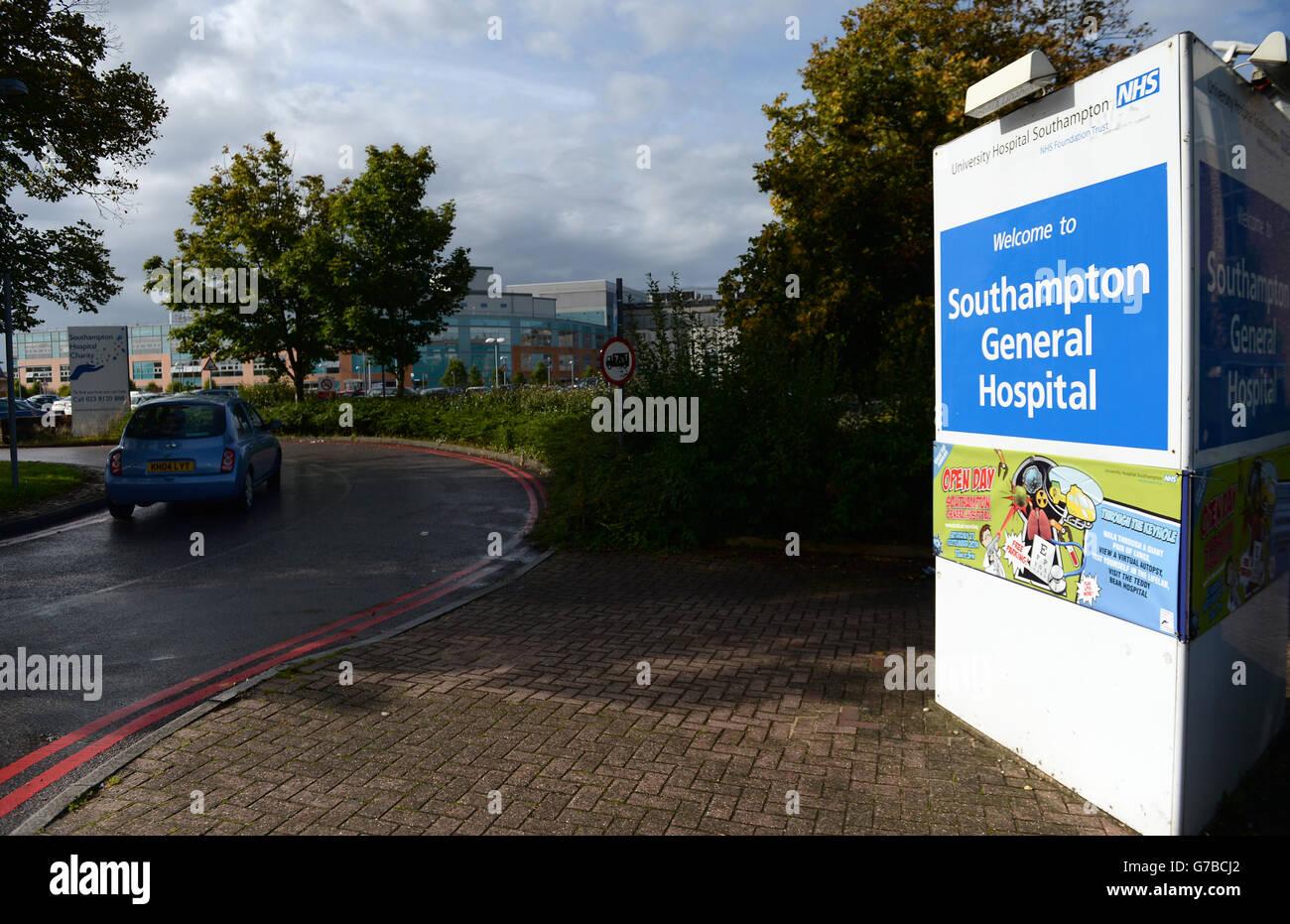 Hospital Stock - Southampton General Hospital - Stock Image
