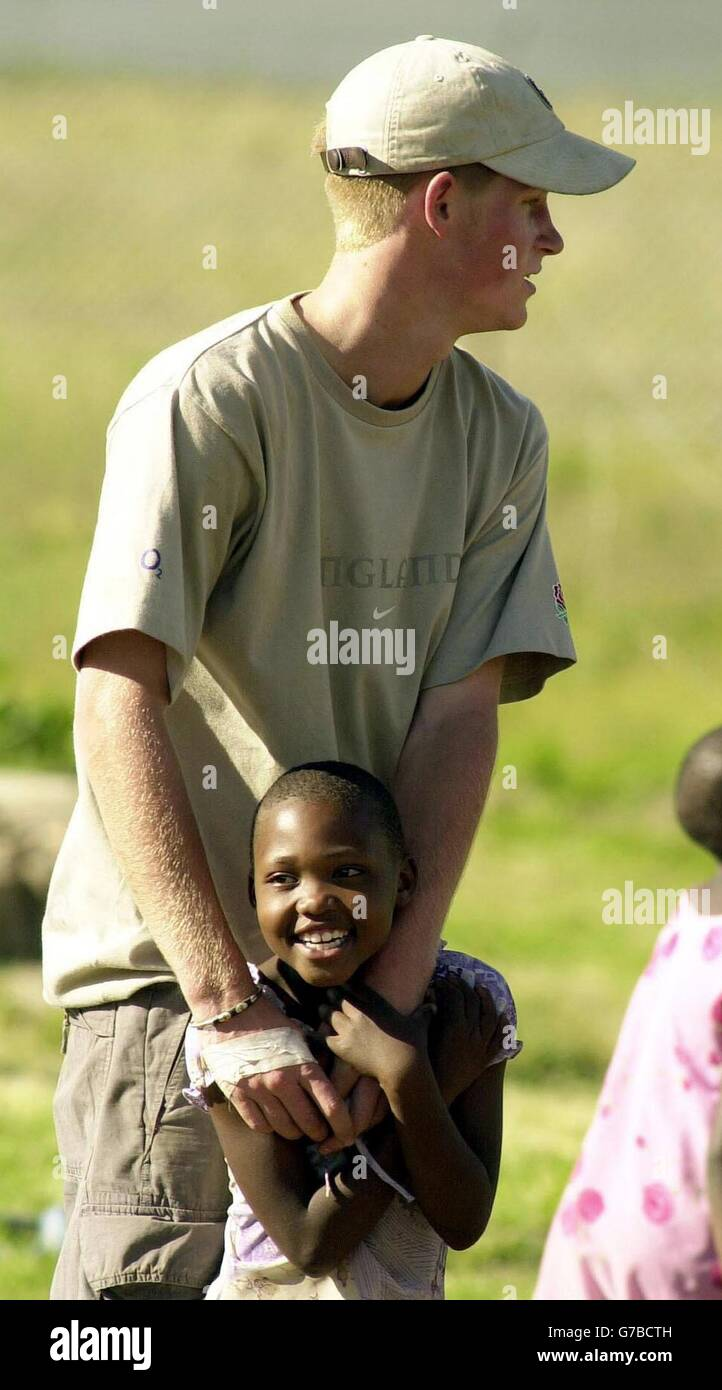 Prince Harry Documentary - Stock Image