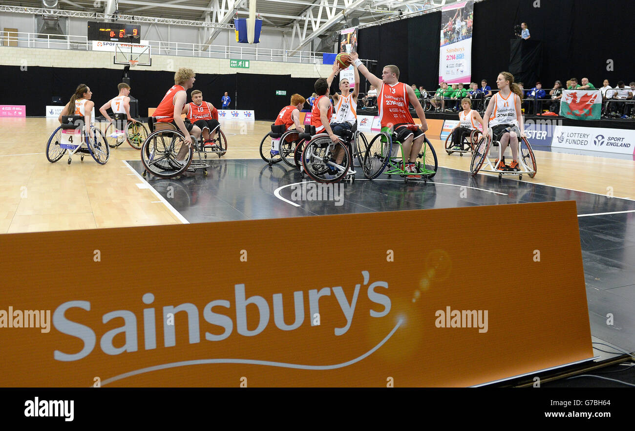 Sport - Sainsbury's 2014 School Games - Day Three - Manchester - Stock Image